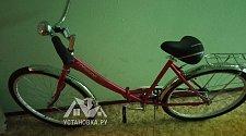 Произвести разборку велосипеда