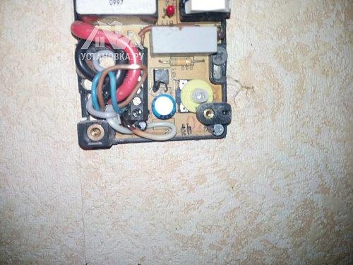 Переустановить терморегулятор тёплого пола