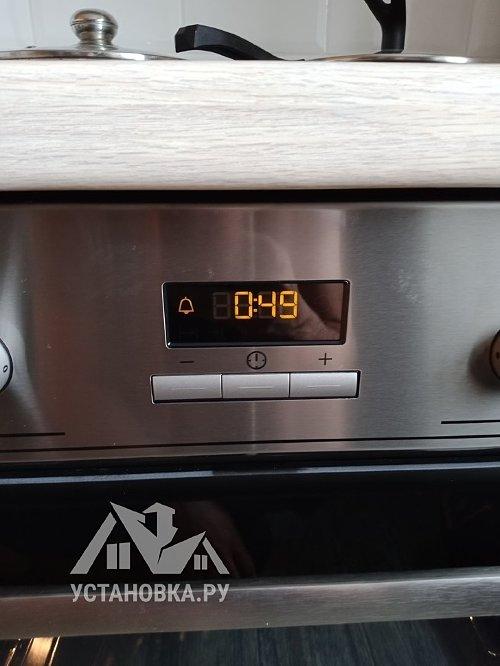 Установить духовой шкаф электрический Electrolux EZB 52410 AX