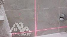 Установить бескаркасную шторку на ванну