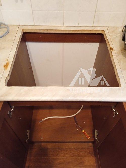 Демонтировать и установить электрическую варочную панель Беко