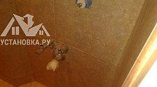 Замена раковины подвесной