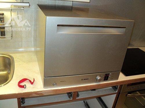 Работа по установке посудомоечной машины