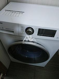Установка стиральной машины Haier
