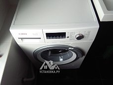 Установить стиральную машину Bosch Serie 6 3D Washing