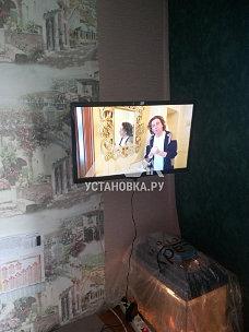 Навесить в комнате на стену новый телевизор Samsung