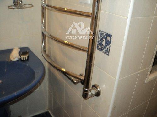 Заменить медную подводку к полотенцесушителю