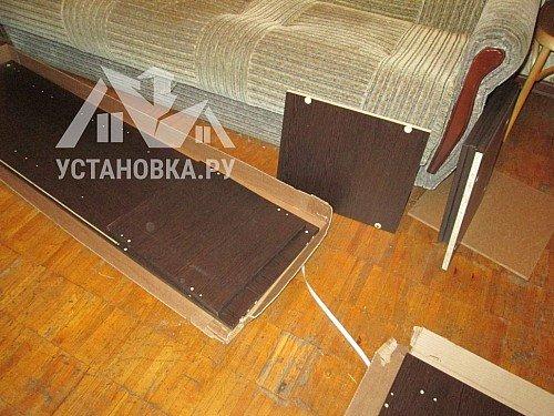 Собрать шкаф-витрину Соло 015-1302