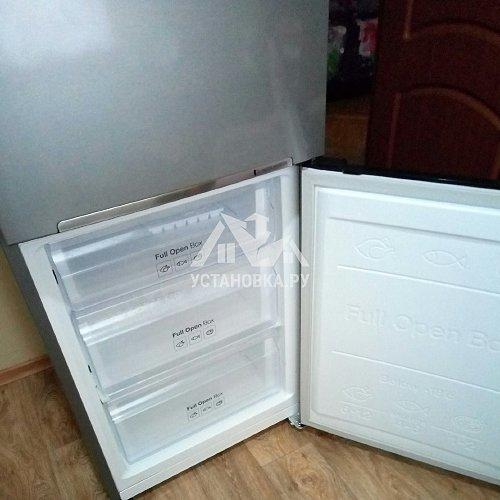 Установка нового холодильника
