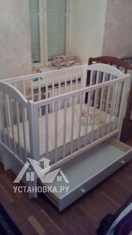 Собрать детскую кроватку ЛЕЛЬ Кубаночка-2 БИ