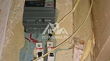 Перенести и закрепить электрические кабеля в прихожей