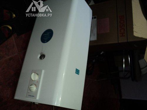 Установить газовую колонку Bosch WR 10-2P