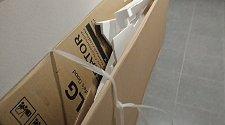 Установить новый отдельностоящий холодильник LG