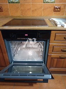 Установить духовой шкаф электрический вместо газового