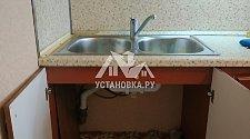 Демонтировать и установить накладную мойку и потолочную сушилку