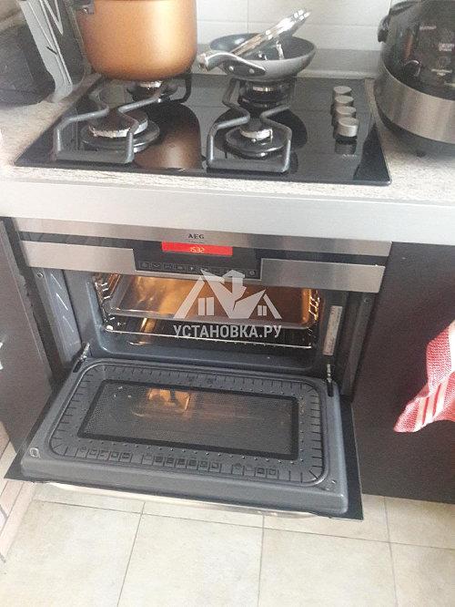 Демонтировать и установить встраиваемая микроволновую печь Gorenje BM251S7XG