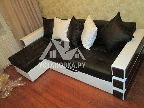 Собрать угловой диван