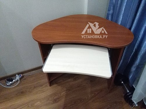 Собрать обычный компьютерный стол