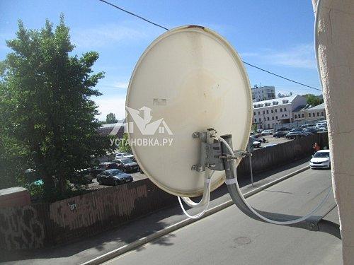 Перевесить спутниковую тарелку Триколор ТВ