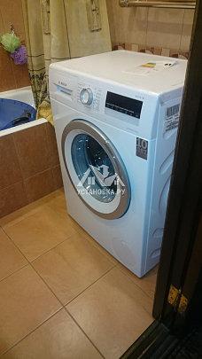Установить в ванной новую стиральную машину Bosch WLL24266OE