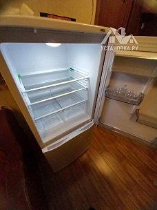 Установить отдельно стоящий холодильник Атлант