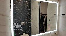Установить зеркало в ванной комнате