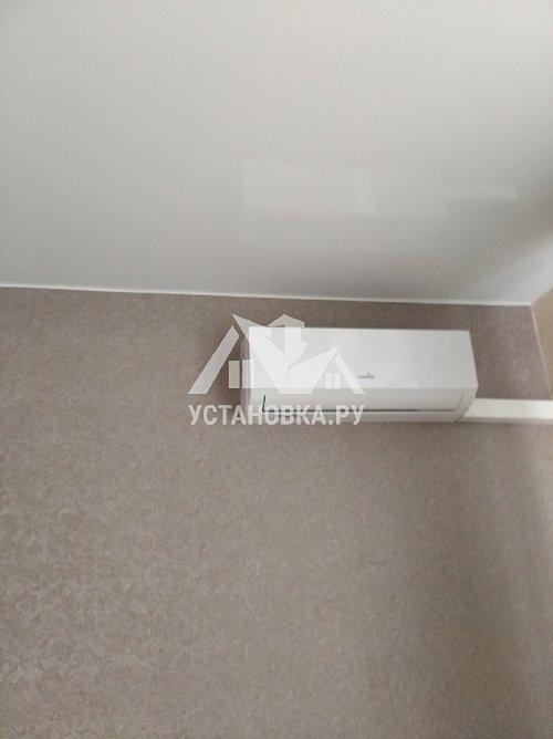 Установить кондиционер мощностью до 2,5 киловатт с лестницы