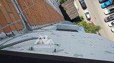Демонтировать спутниковую тарелку под окном