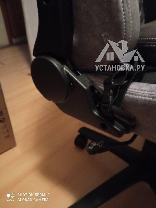 Собрать компьютерное кресло AeroCool Duke