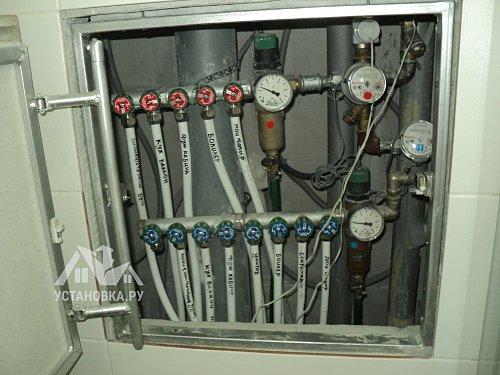 Проверить правильность работы системы от протечек воды Аквасторож