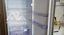 Перевесить двери на новом отдельностоящем холодильнике Beko