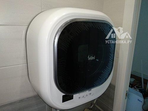 Закрепить стиральную настенную машину