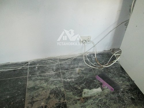 Монтаж кабеля сечением до 2,5мм в кабель канале