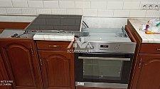 Установить варочную панель электрическую и духовой шкаф электрический