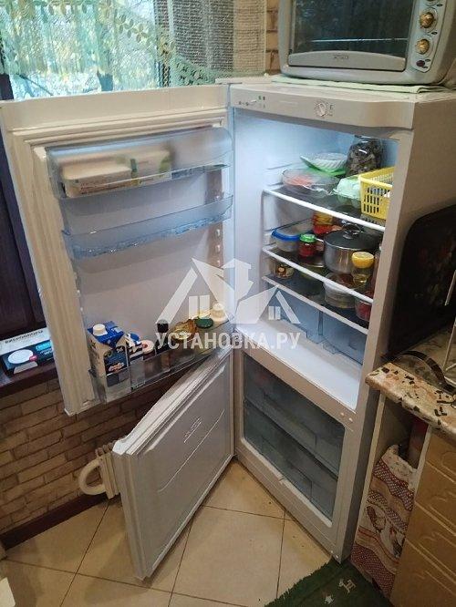 Перевес дверей на отдельно стоящем холодильнике