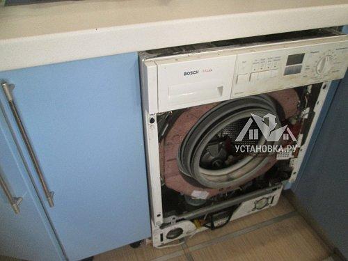 Установить стиральную машину встраиваемую AEG L 61470 WDBI