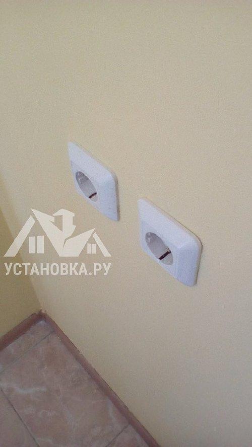 Заменить розетки и выключатели