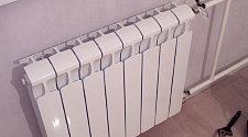 Установить радиатор отопления на готовые коммуникации