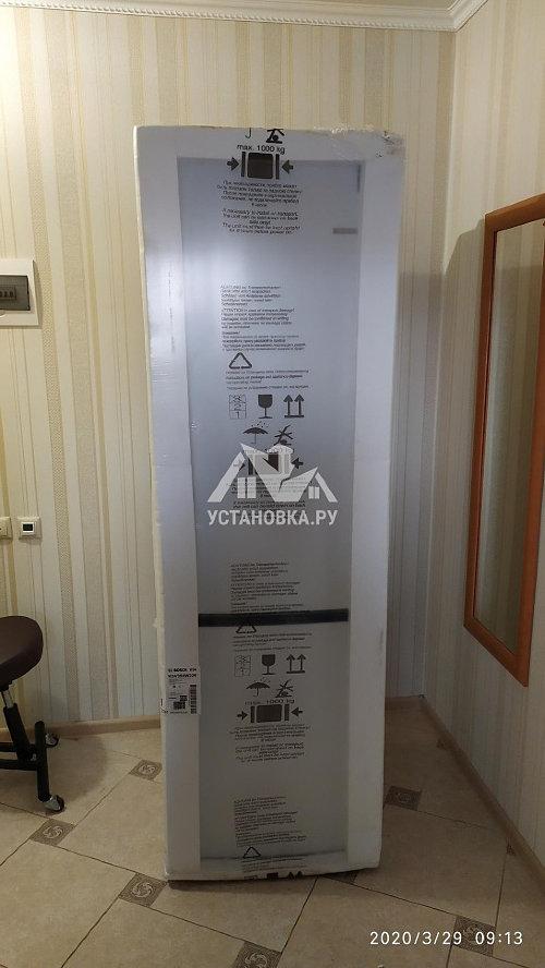 Установить новый отдельностоящий холодильник