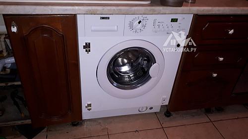 Установить стиральную машину Zanussi ZWI 71201 WA