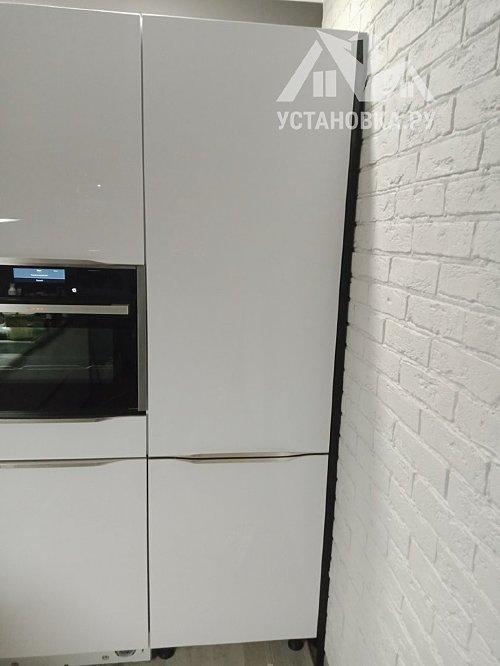 Демонтировать и установить встраиваемый холодильник Candy CKBBS 172 F