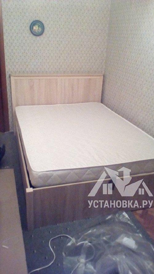Собрать кровать с подъёмным механизмом