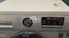 Установить отдельно стоящую стиральную машину LG F-1096ND3 в ванной комнате