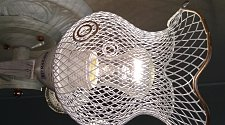 Установка потолочной люстры на анкерах (накладная)