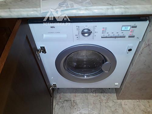 Подключить встраиваемую стиральную машину AEG L 61470 WDBI