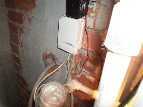 Заменить контроллеры управления систем от протечек воды