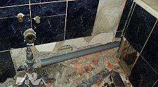 Устранить течь в ванной комнате в стене