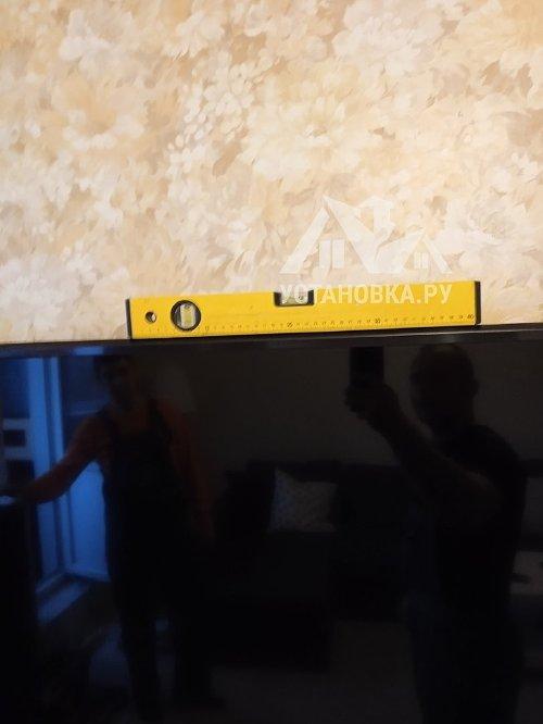 "Стандартный подвес и настройка SMART телевизора от 61"""