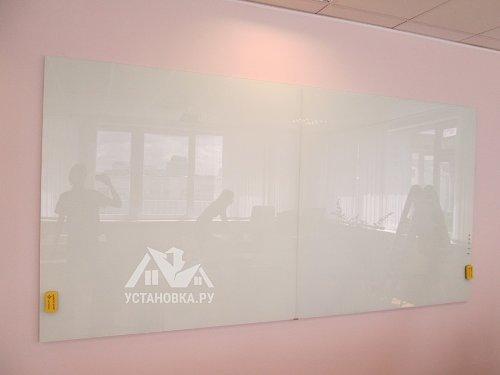 Прикрепить стеклянные маркерные доски
