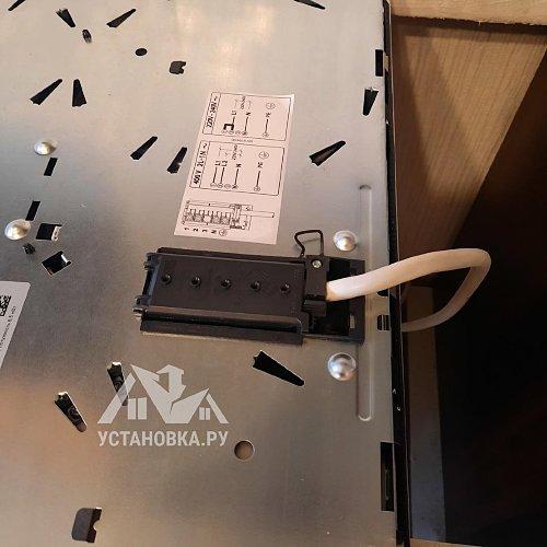 Демонтировать и установить электрическую варочную панель Занусси